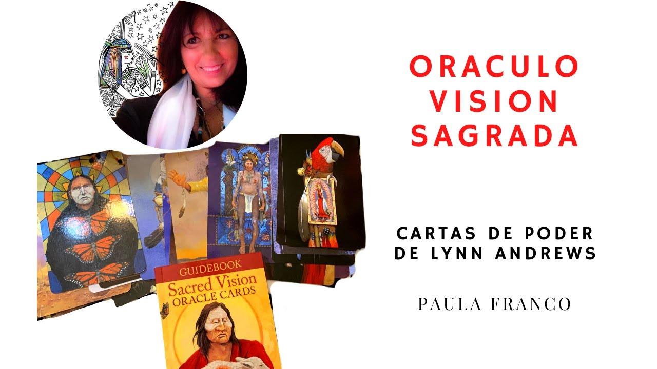 Mensajes de Poder personal, Chamanismo femenino,Cartas de Visión Sagrada por Lynn Andrews. Libro