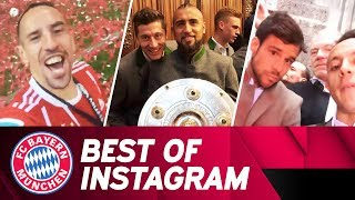 Best of Instagram: That's how Ribéry, Lewy & More Celebrate the German Championship 📸