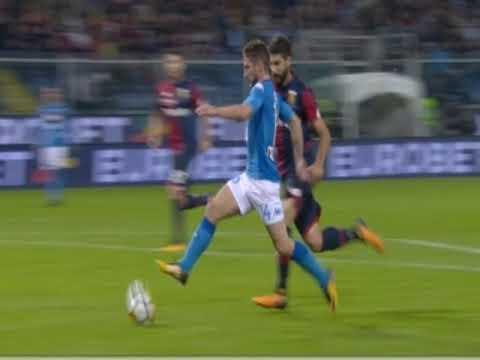 Genoa Napoli 2-3: Mertens stop  e gol pazzesco