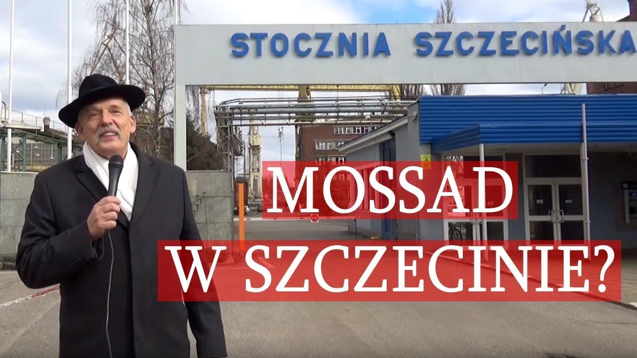 Janusz Korwin-Mikke: Stocznię Szczecińską mieli przejąć Żydzi z Mossadu?