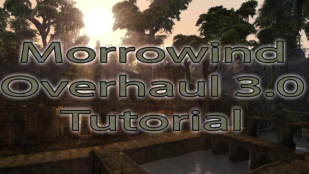 Morrowind Overhaul 3 0 Tutorial [Deutsch] von SoydonuemLP  (Installationshilfe)