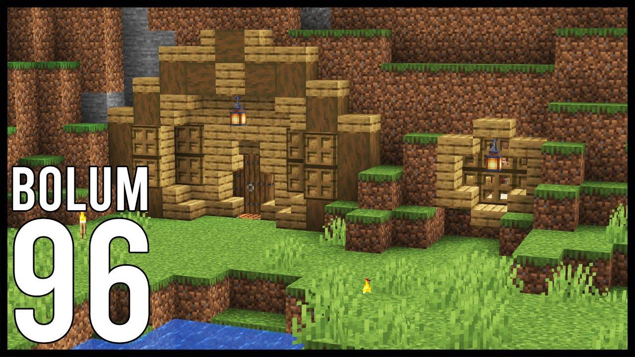 ODUNCU HOBBITLERİMİZ! - Minecraft: Modsuz Survival | S6 Bölüm 96