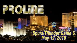Spurs vs. Thunder Game 6 Betting Preview, May 12, 2016