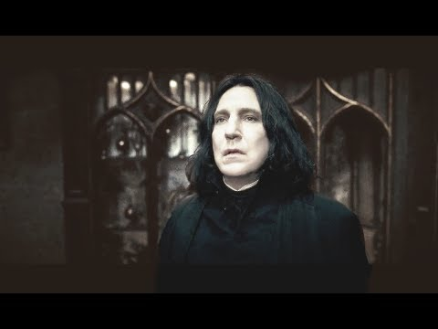 Severus Snape's most important scenes and arcs in the Harry Potter film series in chronological order, from meeting Lily to his memory living on in a name