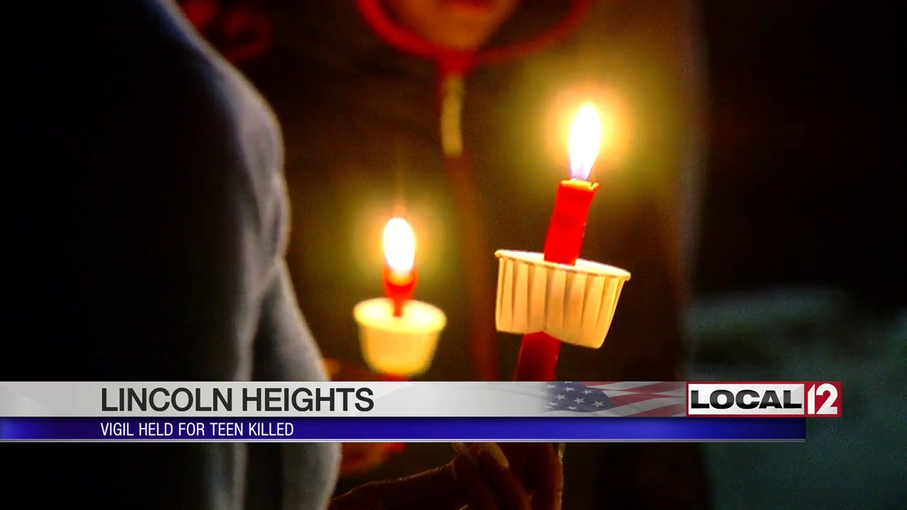 Family, friends hold vigil for teenager killed in Lincoln Heights