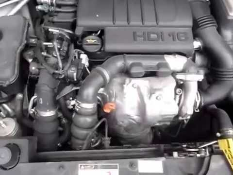 c17091 citroen berlingo 1 6hdi 9hx manual 2011 engine testing   youtube