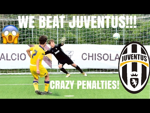 OMG WE BEAT JUVENTUS - THE BEST TEAM IN THE WORLD!? ACADEMY EXPERIENCE PART 3 CHISOLA CUP