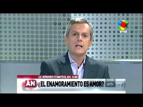 """Bernardo Stamateas en América Noticias :: """"¿El enamoramiento es amor?"""""""