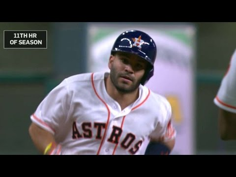 LAA@HOU: Altuve blasts homer, extends...