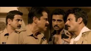 Anil Kapoor's dialogue Police ki goli mein itna loha hai, Shootout At Wadala