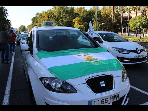 El taxi sale a la calle contra las VTC