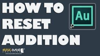 Як Перевстановити Adobe Autdition Повернутися До Заводських Налаштувань