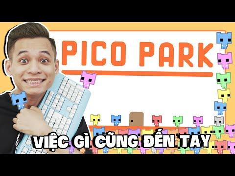 (Pico Park) Độ Tày gồng gánh team Refund phá đảo game tật nguyền Pico Park.