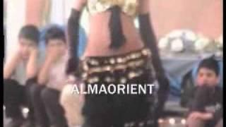 قص بنت عارىة. بدون ملابس داخلية  arabic belly dance- ALMAORIENT