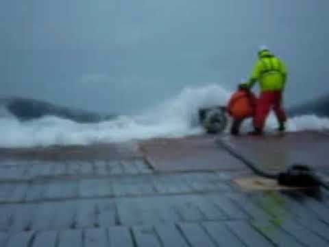 Rough Sea Anchor Handling