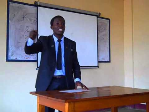 Debate video - Cameroon Debate Academy 2013 Final