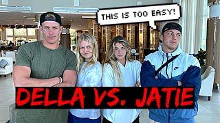 DELLA vs JATIE TRUTH OR DARE!!