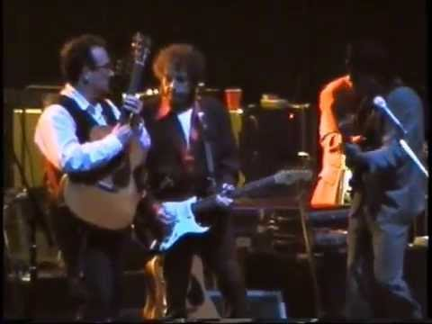 Bob Dylan,Elvis Costello,I Shall be Released,London,31.03.1995