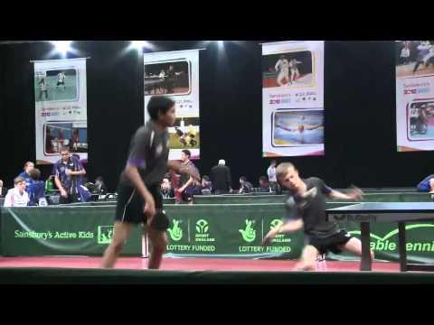Sainsbury's 2012 School Games Highlights -- Table Tennis Day2