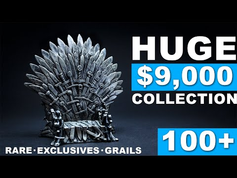 HUGE $9,000 GAME OF THRONES FUNKO POP COLLECTION - 100+ GRAILS!
