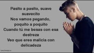 Justin Bieber   (Despacito Lyrics)
