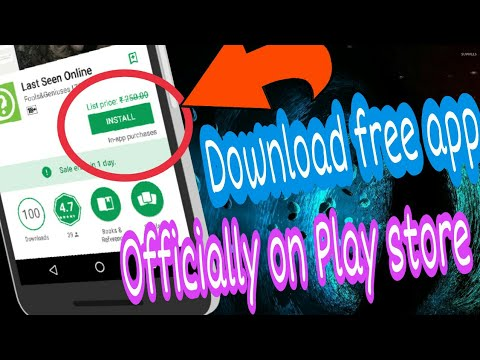 Officially download paid apps on Play store   No apk file   No pirated app   No root