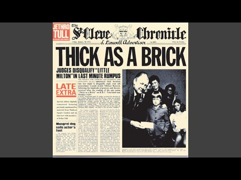 Thick as a Brick (Live at Madison Square Garden) mp3