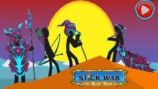 Stick War Legacy Apk: Unlimited Gems | VAMP Skin Hack 2018 - Android GamePlay HD