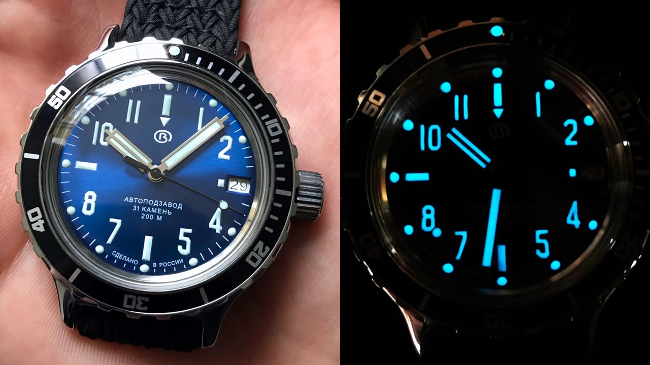 Converting automatic Vostok Amphibia to manual wind and modding with custom parts