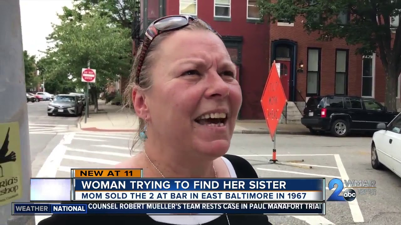 White Woman searches for her sister after mom sells them at bar 50 years ago