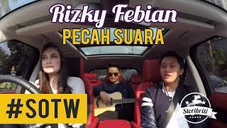 Luna Maya - Rizky Febian, Selebriti On The Way Part #7