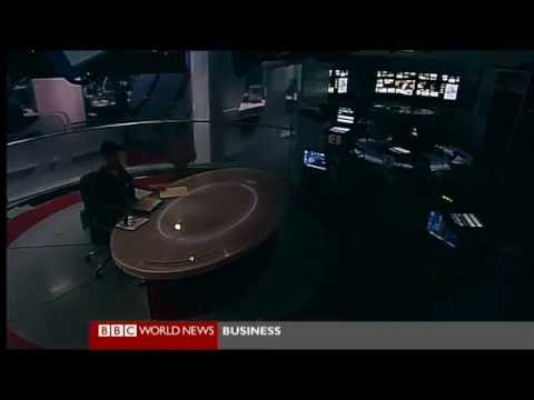 Last broadcast from BBC World News studios in Television Centre