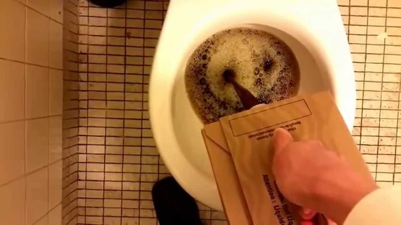 Starbucks Coffee Traveler In The Toilet
