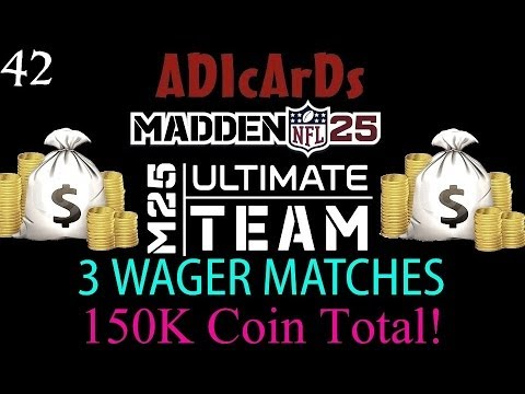 Madden 25 Ultimate Team | Megatrons MEGA DAY | User Pick City | 3 Wager Games | MUT 25