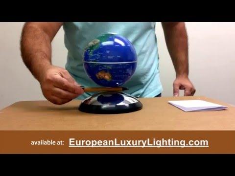 Levitating Globe: Anti Gravity Floating Electromagnetic Desktop Globe