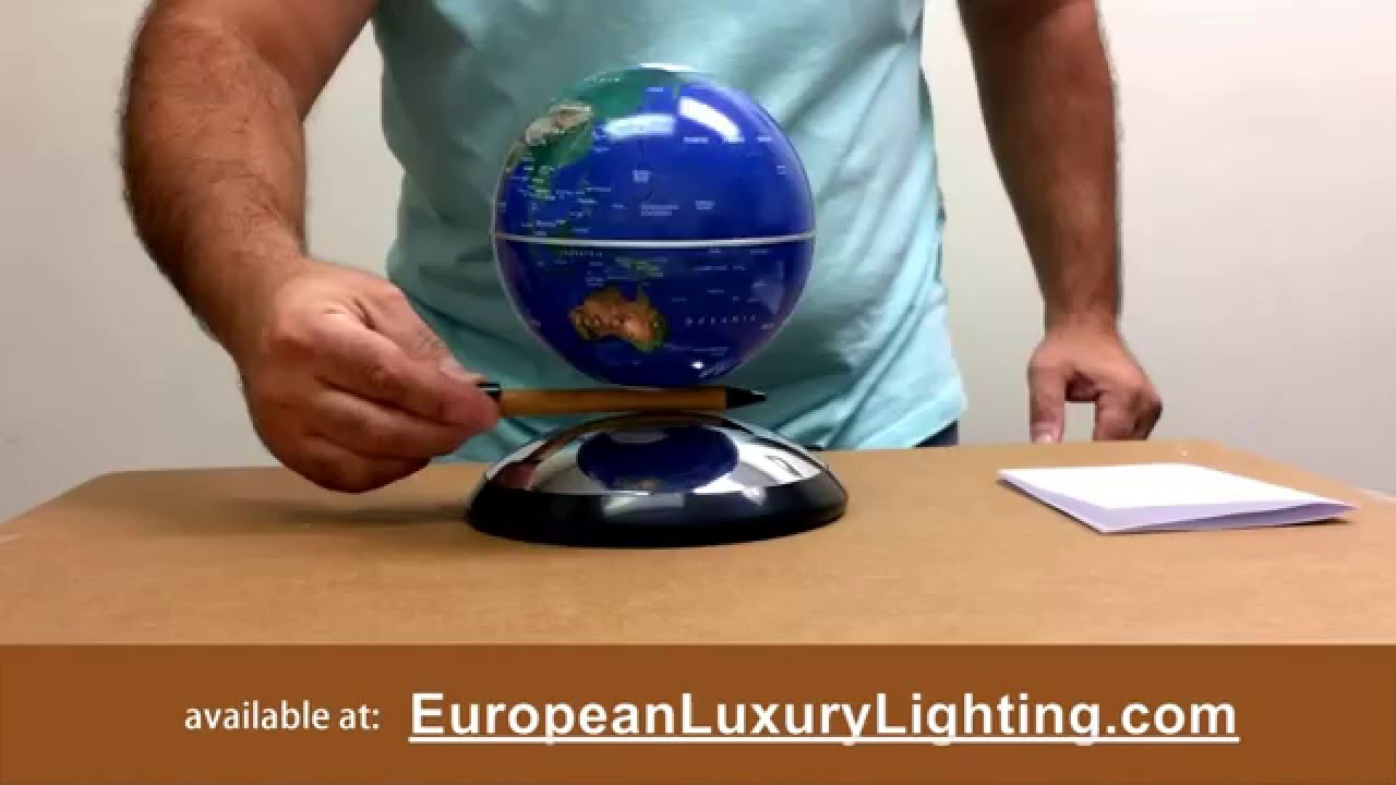 Levitating Globe Anti Gravity Floating Electromagnetic Desktop You