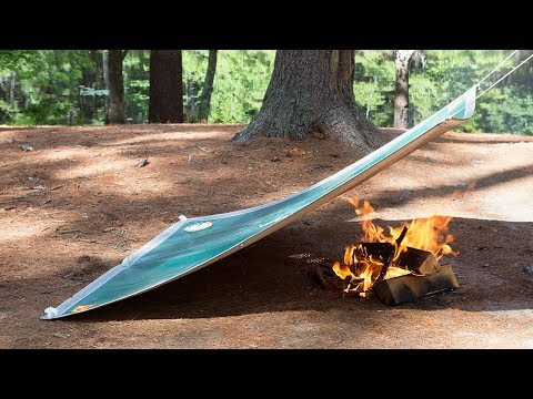 Cover up that campfire and re-use it.