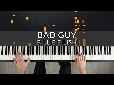 Billie Eilish - Bad Guy | Tutorial Of My Piano Cover