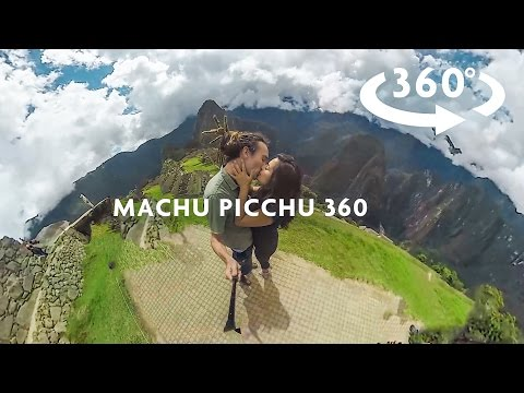 MACHU PICCHU EXPLORING 360 VIDEO