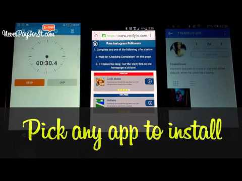How to get free instagram followers   Video Proof   NeverPayForIt com1