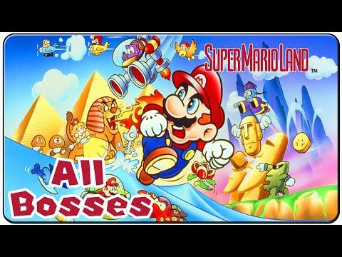 Super Mario Land - All Bosses (No Damage)