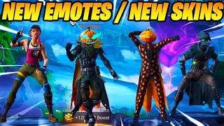 *NEW* Fortnite Dances/Emotes Leaked With *NEW* Fortnite Skins Leaked..!!