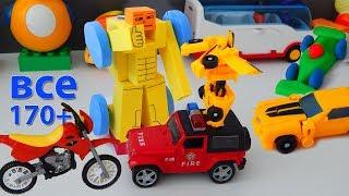 Машинки мультфильм - Город машинок все серии подряд (170-179 серии). Мультики про машинки mirglory