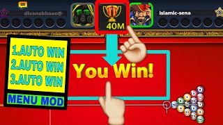 Auto win every time without playing match 8 ball pool