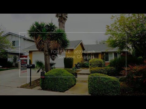 For Sale     2677 Larch Ct  San Jose CA 95121