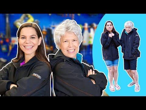Florida Girls Review NEW Ridgid Heated Jacket!