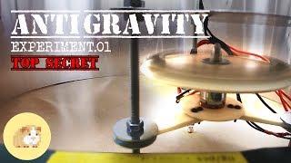 Anti-Gravity Experiment 01 - Neodymium Magnets at 13000RPM