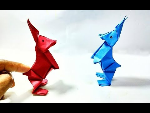 Jumping Paper Rabbit - 2  || Extra Shaping || DIY