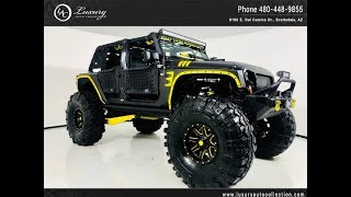 #CC4584 | 2012 Jeep Wrangler Unlimited Sahara Fully Custom | For Sale Scottsdale, AZ