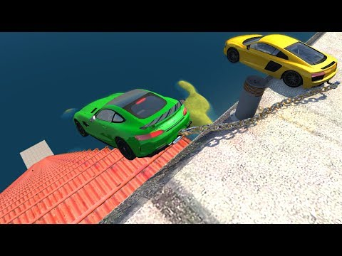 High Speed Jumps/Crashes #52 - BeamNG Drive Satisfying Crashes Compilation